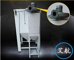 中山干式9060箱式普压除锈手动喷砂机