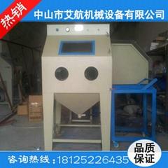 廠家全國直銷小型手動噴砂機訂做輸送自動噴砂機