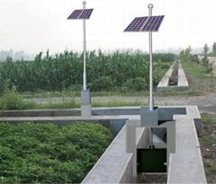太阳能闸控系统-一体化流量闸门