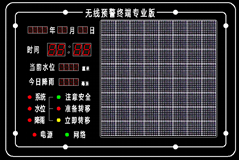 新型山洪入户预警系统蓝芯电子LXDZ-YQH-04B型专业版入户报警器