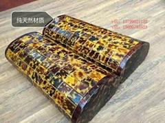 纯天然玳瑁色枕头枕芯