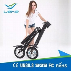 foldable electric bicycle scooter K1 48v 350w