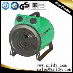 3KW 10200BTU/H  INDUSTRIAL WORKSHOP FAN HEATER  ELECTRIC SPACE heater