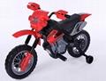 Motorbike-red (6V)-8014