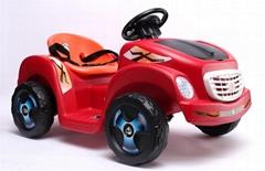 四轮儿童电动车