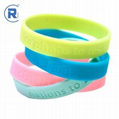 Contactless MIFARE Ultralight EV1 rfid silicone wristbands