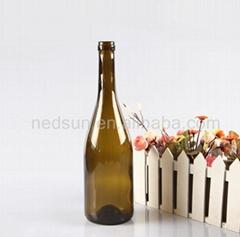 Mini 750ml glass wine bottles wholesale
