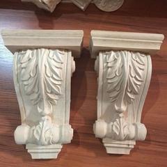 Furniture Decoration Antique Wood Carving Corbels