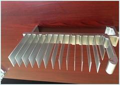 """""""電子產品散熱器及LED燈具散熱器機械內置散熱器鋁材""""參數說明"""
