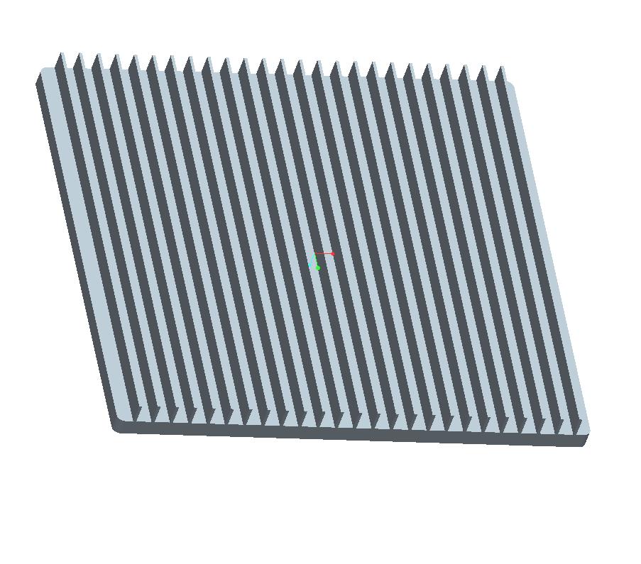工业散热器铝型材 电子电器散热器铝合金型材 1