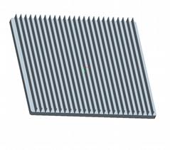 6063Aluminum Extrusion Heatsink Aluminum Profiles for Auto Led Lightings