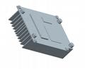 工业散热器铝型材 电子电器散热器铝合金型材 2