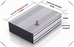 Silver Anodic Oxidation Structural Aluminum Profiles Customized