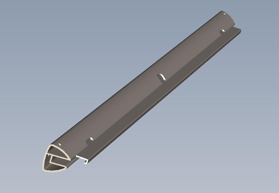 AL6063 - T5异形方管 铝板 铝棒 铝排 铝型材 1