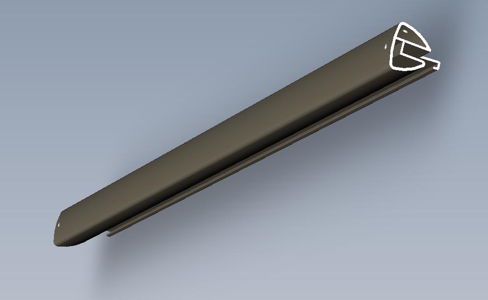 AL6063 - T5异形方管 铝板 铝棒 铝排 铝型材 3