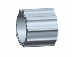 AL6063 Special Aluminium Profile , Moulding Aluminium Angle Bar