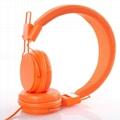 custom design hot sales 2018 wire headphone for mobile phones  1