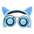 cat ear cartoon children light earphone