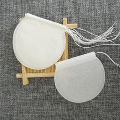 E1008 round drawstring filter empty tea bag