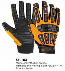 Impact Resistance TPR high Performance Gloves