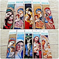 Holy Mother Mary Madonna Jesus Religious Bookmarks Christianity Tapestry