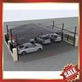 public rain sunshade aluminium alloy pc
