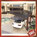 rain sunshade garden metal polycarbonate carport  2