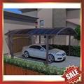 rain sunshade garden metal polycarbonate carport  5