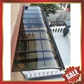 door window polycarbonate aluminum alloy canopy awning shelter 1