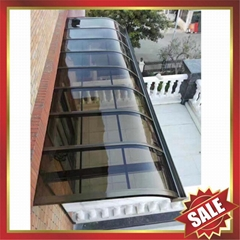 door window polycarbonate aluminum alloy canopy awning shelter