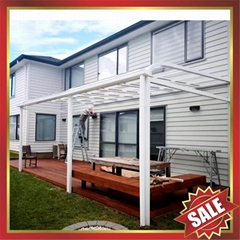 gazebo patio balcony polycarbonate pc aluminum alloy frame canopy awning shelter