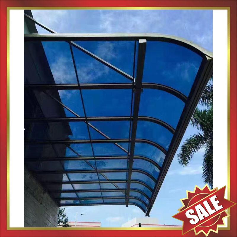 high quality pc aluminum canopy awning shelter for home house hotel building 3