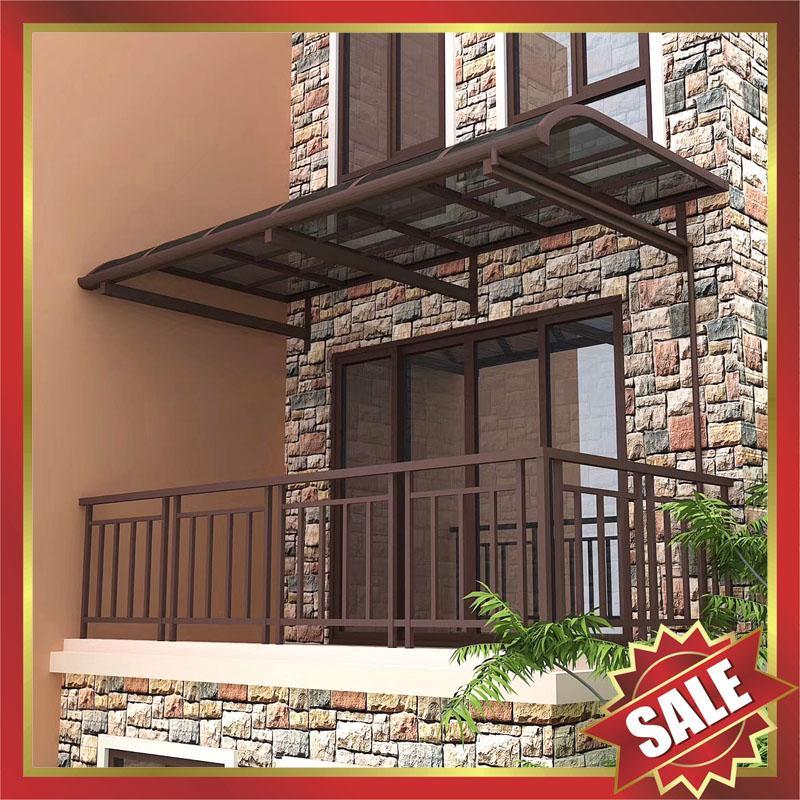 outdoor gazebo patio balcony corridor window pc aluminum canopy awning shelter 1