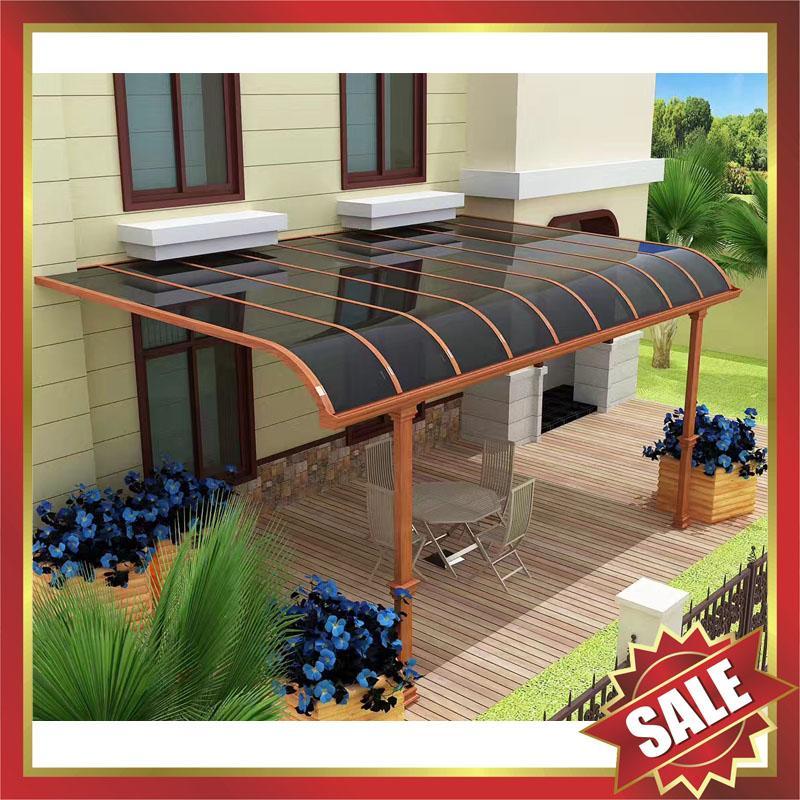 outdoor gazebo patio balcony corridor window pc aluminum canopy awning shelter 5
