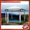 alu aluminum metal gazebo pavilion shelter cover canopy awning kits