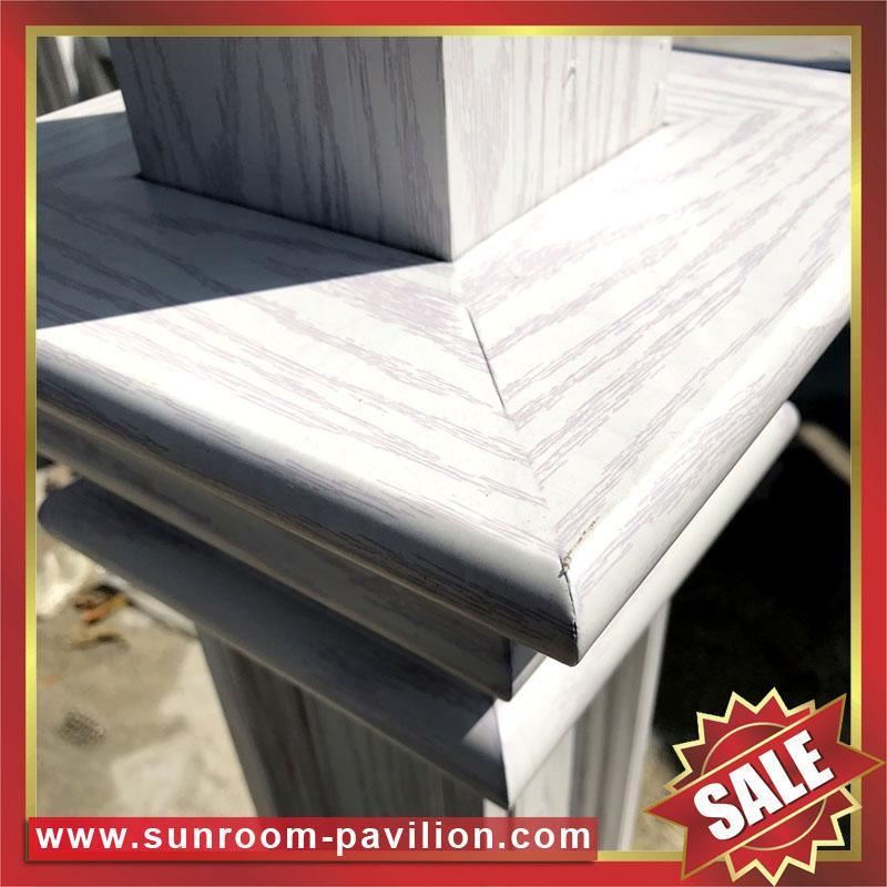 Prefabricated outdoor garden park villa metal aluminum gloriette pavilion kiosk 3