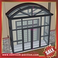 高级定制耐用别墅透明玻璃门窗金