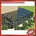 outdoor glass alu aluminum sunroom sun house room cabin enclosure kits