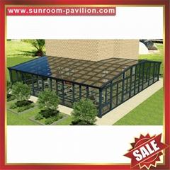 高級定做豪華別墅透明玻璃金屬鋁合金鋁制露台陽光房子溫室屋
