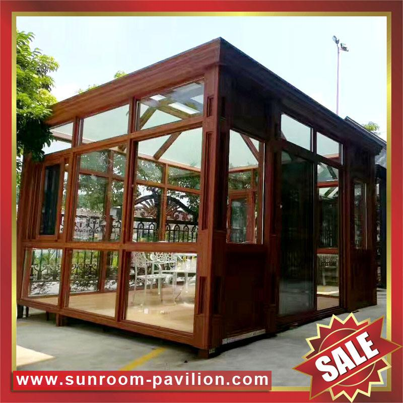 gazebo patio aluminum glass sun room sunroom house enclosure 3