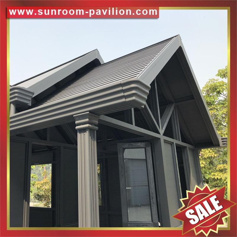 gazebo patio aluminum glass sun room sunroom house enclosure 6