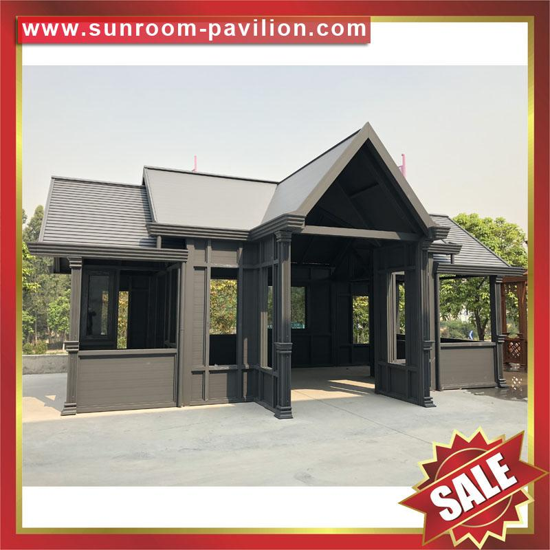 Europe hot sale outdoor garden aluminum sunroom glass sun house room 2