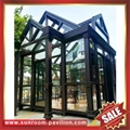 Europe hot sale outdoor garden aluminum sunroom glass sun house room 5