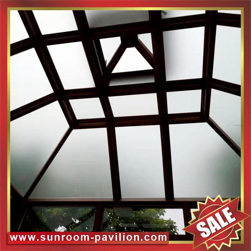 Europe hot sale outdoor garden aluminum sunroom glass sun house room 6