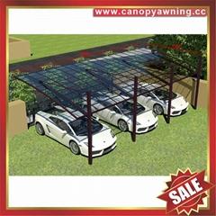 outdoor polycarbonate alu aluminum carport