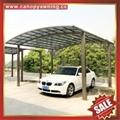 villa car rain sun shelter sheild sunvisor aluminum pc carport canopy awning 2