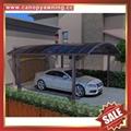 villa car rain sun shelter sheild sunvisor aluminum pc carport canopy awning