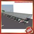 高级定制优质耐用现代公共自行铝合金车棚单车棚遮阳篷挡雨蓬 5
