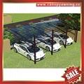 new style villa aluminum polycarbonate pc carport car shelter canopy awning 6