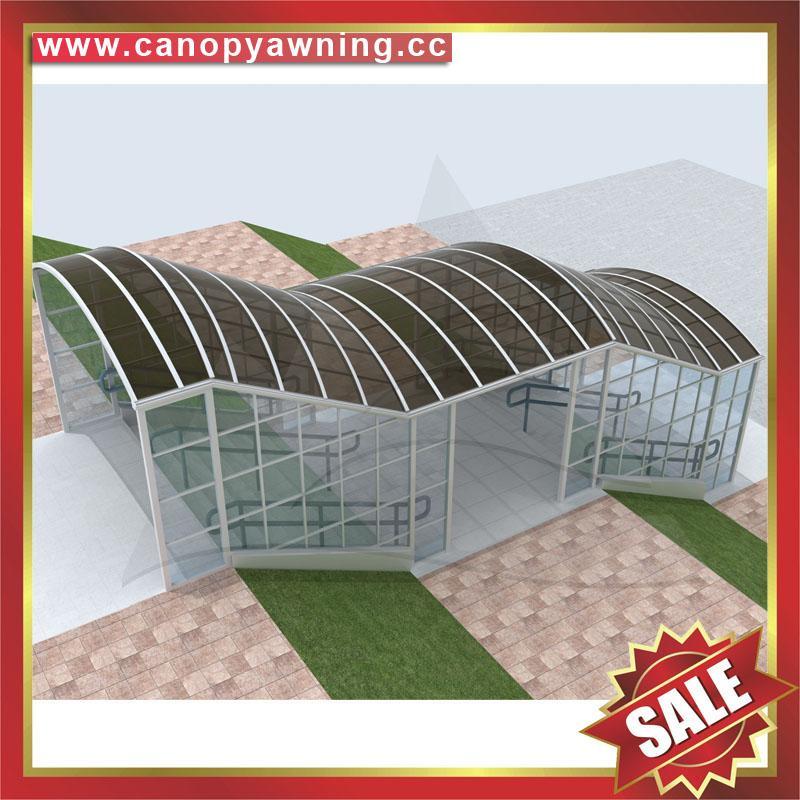 楼梯过道走廊铝合金遮阳雨篷棚蓬